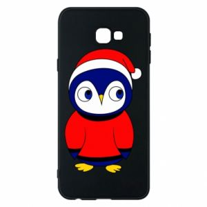 Phone case for Samsung J4 Plus 2018 Penguin in a hat