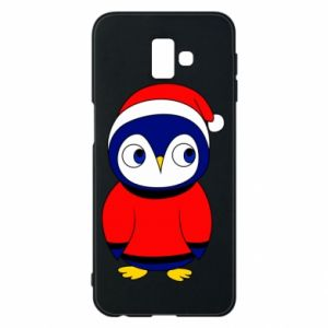 Phone case for Samsung J6 Plus 2018 Penguin in a hat