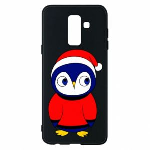 Phone case for Samsung A6+ 2018 Penguin in a hat