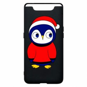 Phone case for Samsung A80 Penguin in a hat