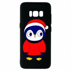 Phone case for Samsung S8 Penguin in a hat