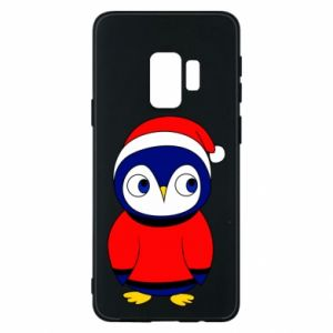 Phone case for Samsung S9 Penguin in a hat