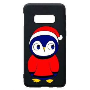 Phone case for Samsung S10e Penguin in a hat