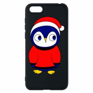 Phone case for Huawei Y5 2018 Penguin in a hat