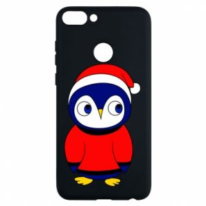 Phone case for Huawei P Smart Penguin in a hat