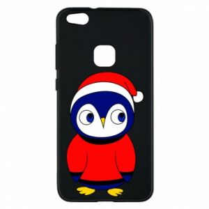 Phone case for Huawei P10 Lite Penguin in a hat