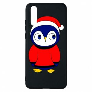 Phone case for Huawei P20 Penguin in a hat