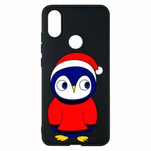 Phone case for Xiaomi Mi A2 Penguin in a hat