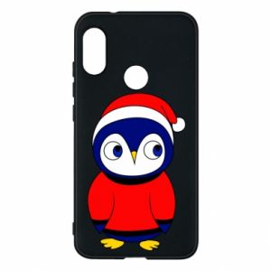 Phone case for Mi A2 Lite Penguin in a hat