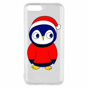 Phone case for Xiaomi Mi6 Penguin in a hat