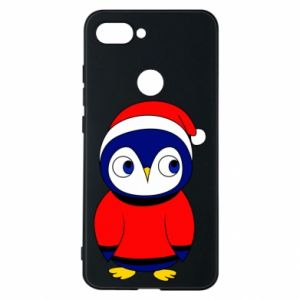 Phone case for Xiaomi Mi8 Lite Penguin in a hat