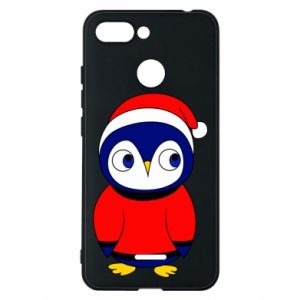 Phone case for Xiaomi Redmi 6 Penguin in a hat