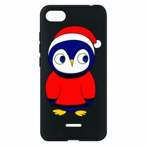 Phone case for Xiaomi Redmi 6A Penguin in a hat