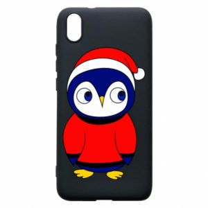 Phone case for Xiaomi Redmi 7A Penguin in a hat