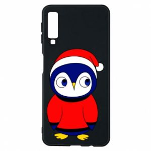 Phone case for Samsung A7 2018 Penguin in a hat