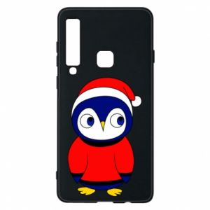 Phone case for Samsung A9 2018 Penguin in a hat