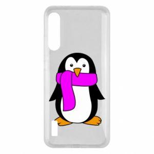 Etui na Xiaomi Mi A3 Penguin in a scarf