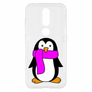 Etui na Nokia 4.2 Penguin in a scarf
