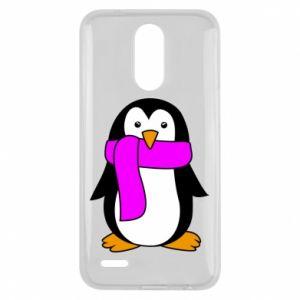 Etui na Lg K10 2017 Penguin in a scarf