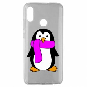 Etui na Huawei Honor 10 Lite Penguin in a scarf