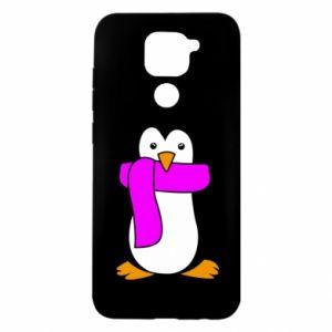Etui na Xiaomi Redmi Note 9/Redmi 10X Penguin in a scarf