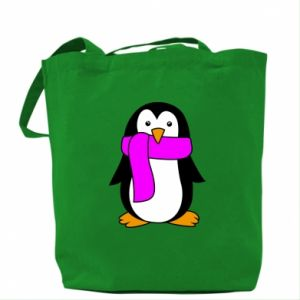 Bag Penguin in a scarf