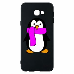 Phone case for Samsung J4 Plus 2018 Penguin in a scarf