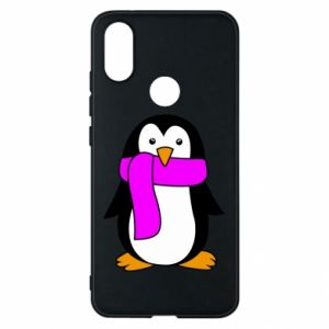 Phone case for Xiaomi Mi A2 Penguin in a scarf