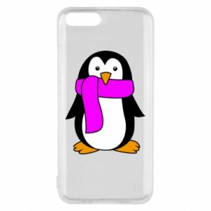 Phone case for Xiaomi Mi6 Penguin in a scarf