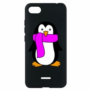 Phone case for Xiaomi Redmi 6A Penguin in a scarf