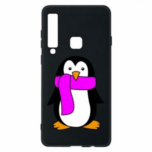 Phone case for Samsung A9 2018 Penguin in a scarf