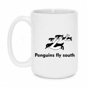 Kubek 450ml Penguins fly south