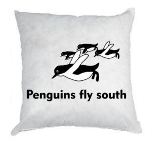 Poduszka Penguins fly south