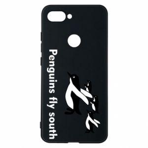 Etui na Xiaomi Mi8 Lite Penguins fly south