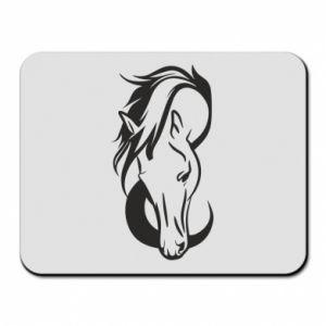 Podkładka pod mysz Pensive horse - PrintSalon