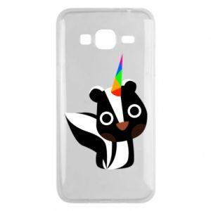 Etui na Samsung J3 2016 Pensive skunk