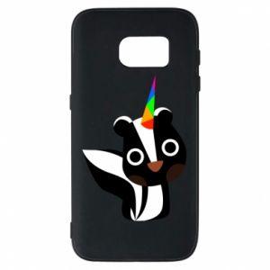 Etui na Samsung S7 Pensive skunk