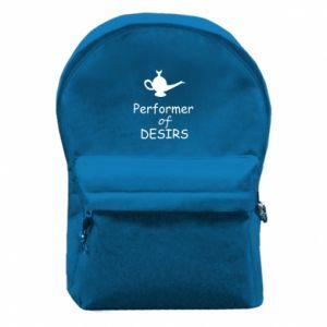 Plecak z przednią kieszenią Performer desirs