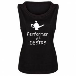 Damska koszulka bez rękawów Performer desirs