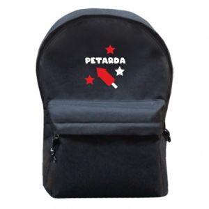 Plecak z przednią kieszenią Petarda