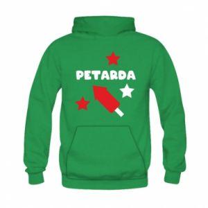 Bluza z kapturem dziecięca Petarda