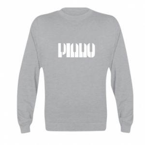 Kid's sweatshirt Piano