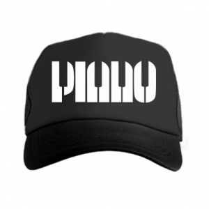Czapka trucker Piano