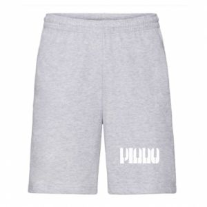 Men's shorts Piano