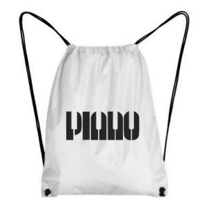 Plecak-worek Piano