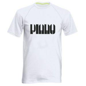 Męska koszulka sportowa Piano