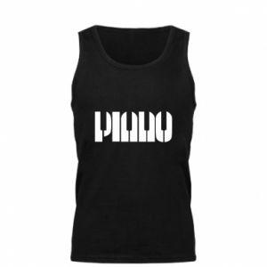 Męska koszulka Piano