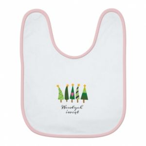 Bib Five Christmas trees happy holidays