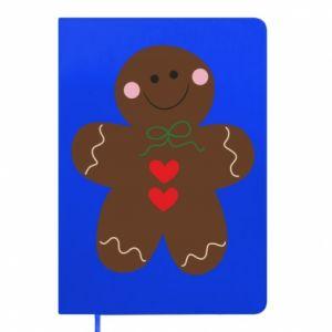 Notepad Gingerbread Man