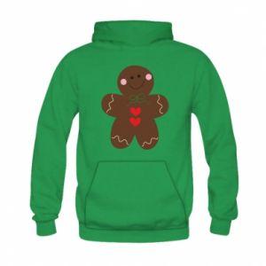 Kid's hoodie Gingerbread Man